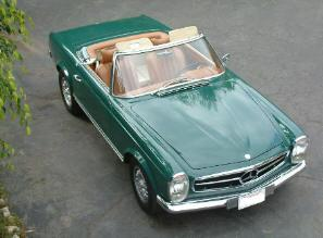 230SL from above